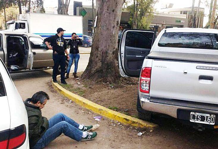 Captura. Delfín Castedo fue detenido el año pasado  en Ituzaingó, luego de una persecución. Tenía una identidad falsa. Hacía ocho años que lo buscaban.