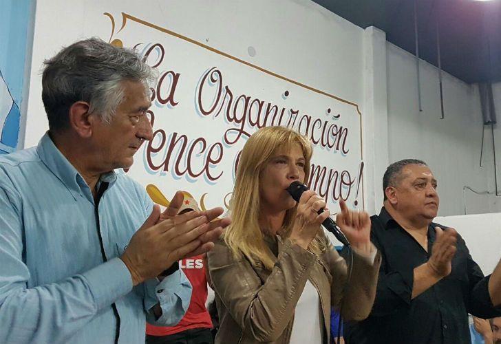 Alberto Rodríguez Saá y Verónica Magario.