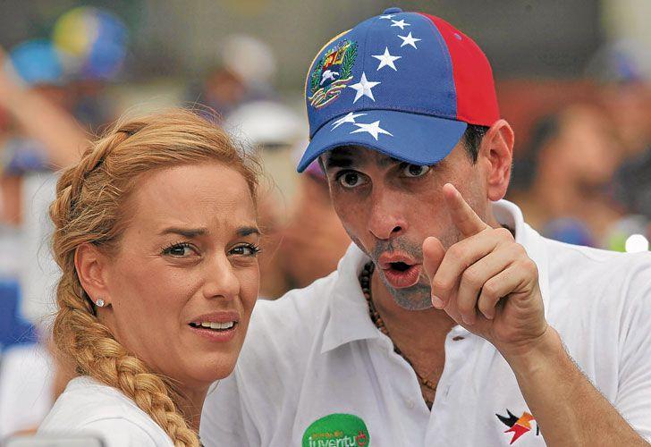 Figuras. Tintori y Capriles buscan cerrar diferencias históricas.