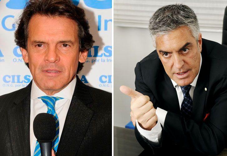 El periodista y el abogado, enfrentados.