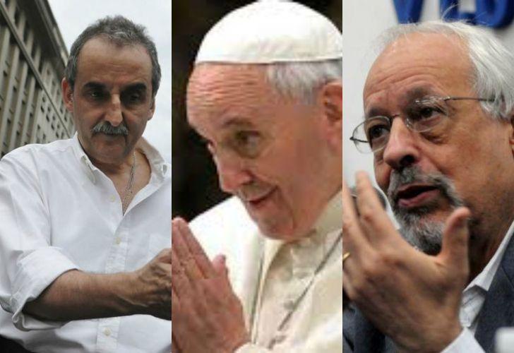 Guillermo Moreno, Papa Francisco, Horacio Verbistky