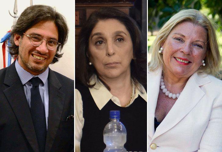Garavano, Majdalani y Carrio