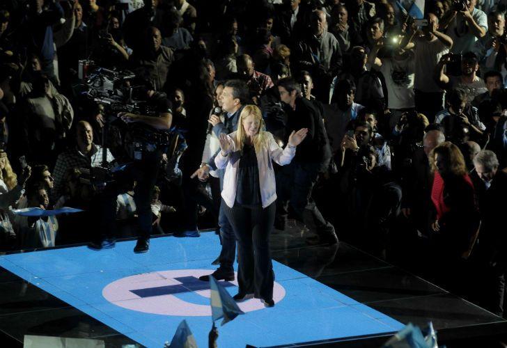 Massa y Stolbizer realizaron un acto en Malvinas Argentinas.