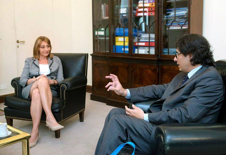 Alejandra Gils Carbó y Germán Garavano, dos agentes claves para el avance de la causa.