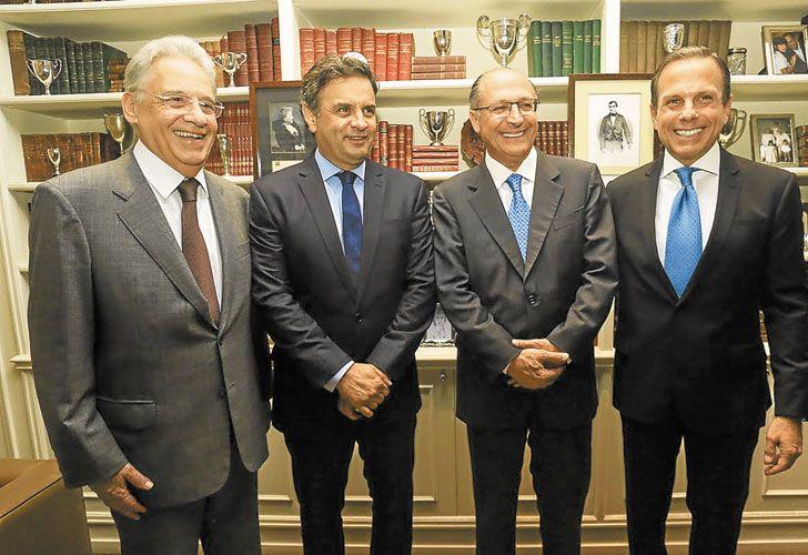 Sin Aecio. FHC, Alckmin y Doria diseñan el futuro del partido.