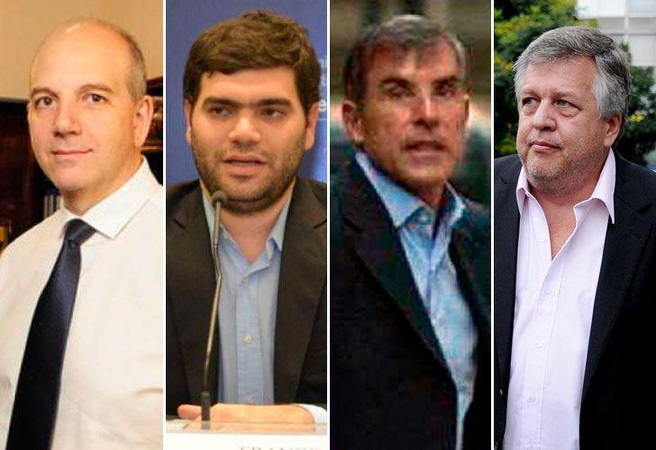 Sergio Rodríguez, Franco Picardi, Gerardo Pollicita y Carlos Stornelli