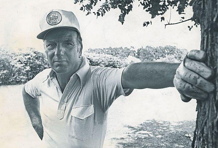 En el podio. Es el único argentino que ganó el Abierto Británico de golf, en 1967. En su carrera obtuvo más de doscientos torneos.