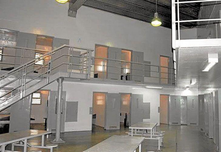 Penal. El Servicio Penitenciario acondicionó un sector para aislar a internos con causas sensibles.
