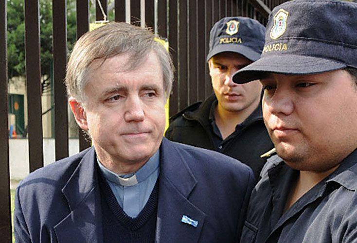 Preso. Julio César Grassi fue condenado a quince años de prisión. Está detenido en Campana.