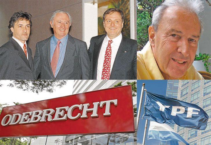 Corcho Rodriguez: con Jorge Born y su secuestrador, Galimberti, ahora ligado a Odebrecht. / Ducler acusó a Eskenazi de testaferro de Kirchner en YPF.