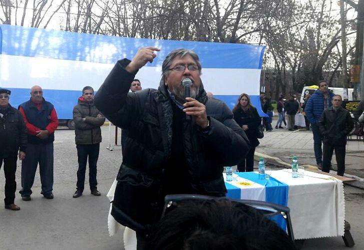 Chino Navarro, en campaña.