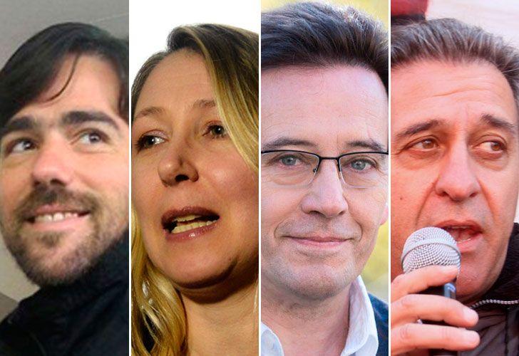 Nicolas Del Caño, Myriam Bregman, Marcelo Ramal y Pitrola