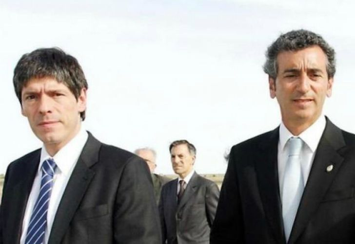 Juan Manuel Abal Medina y Florencio Randazzo.