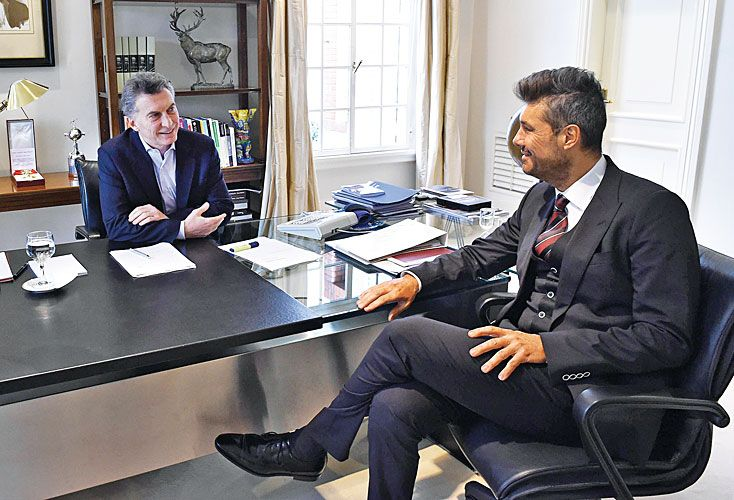 Un vinculo tirante. En julio del año pasado, Macri y Tinelli limaron asperezas. La tensión sigue.
