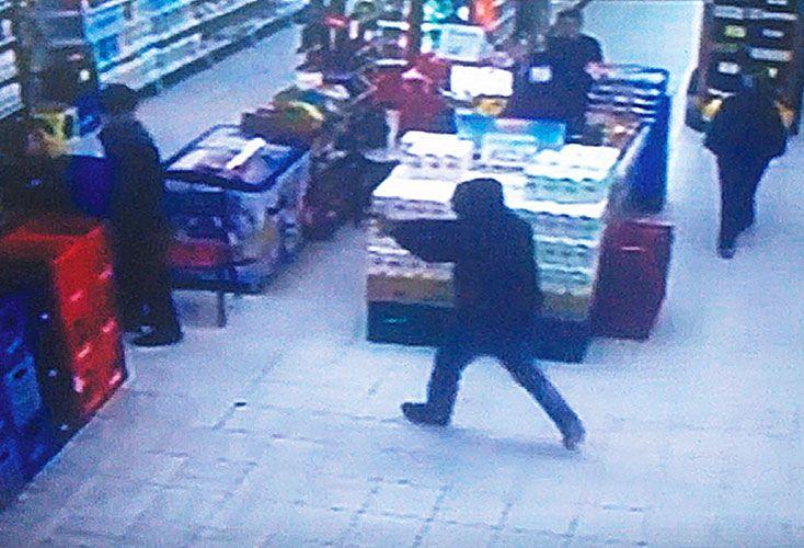 secuencia. El video muestra uno de los ataques atribuidos a la organización. Nicolás Faeda fue detenido en Caseros.