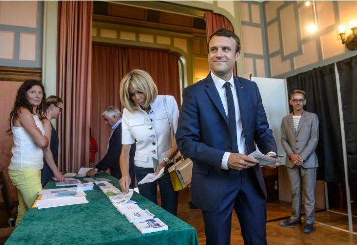 Emmanuel Macron triunfa en su primera prueba.