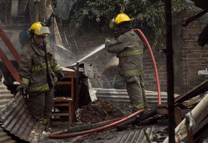 Incendio en Temperley