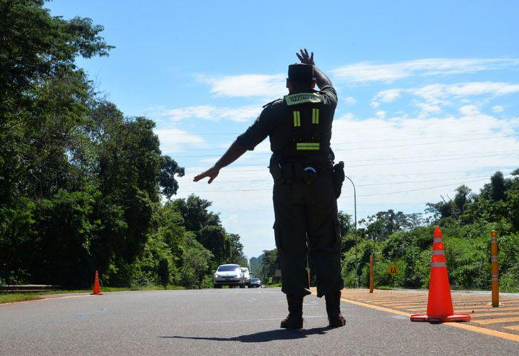 Gendarmeria en la frontera