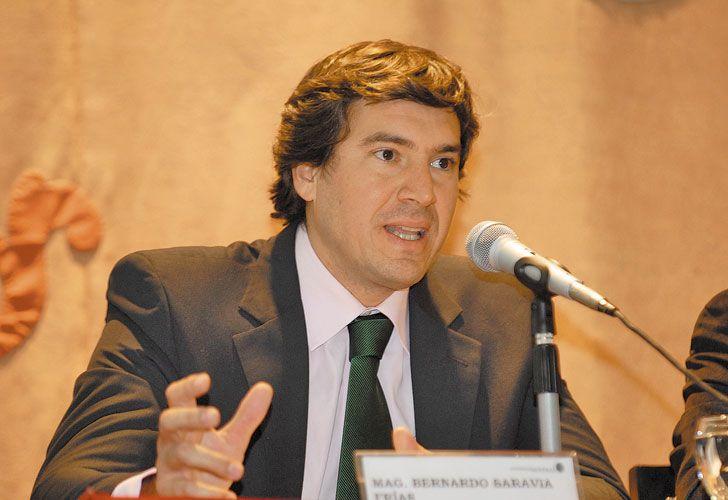 Procurador. Saravia Frías recibió ayer a varios funcionarios.