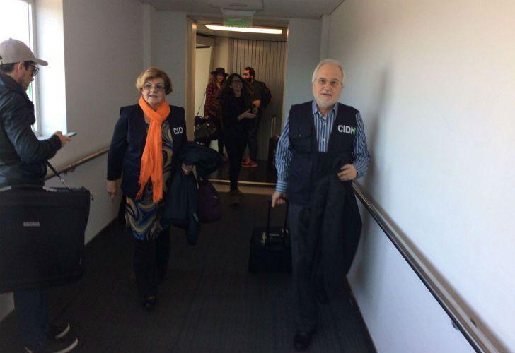 La CIDH visitó a Milagro Sala.