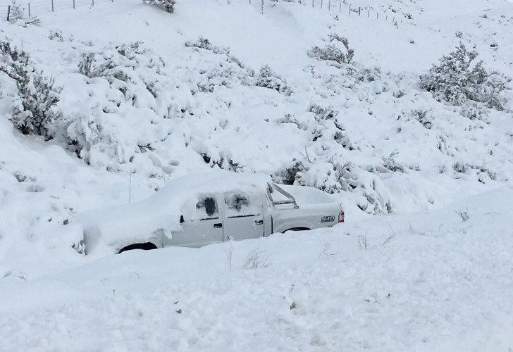 Chubut está azotado por un fuerte temporal que llevó a que se declare la emergencia climática