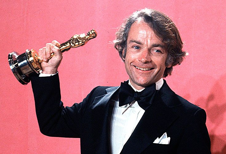 Exitoso. Avildsen con su Oscar en 1976.