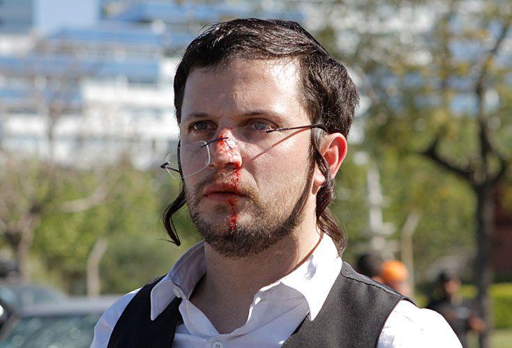 Fe y comedia. En el film donde actua junto a Gerard Depardieu, Lopilato hace de judío ortodoxo.