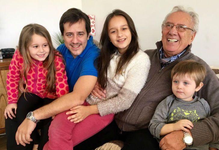 Los Recalde pasaron el Día del Padre en familia y chicanearon a Macri.