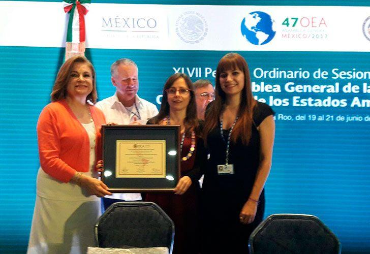 La OEA distinguió la tarea de la Defensoría del Público por la promoción de la equidad de género