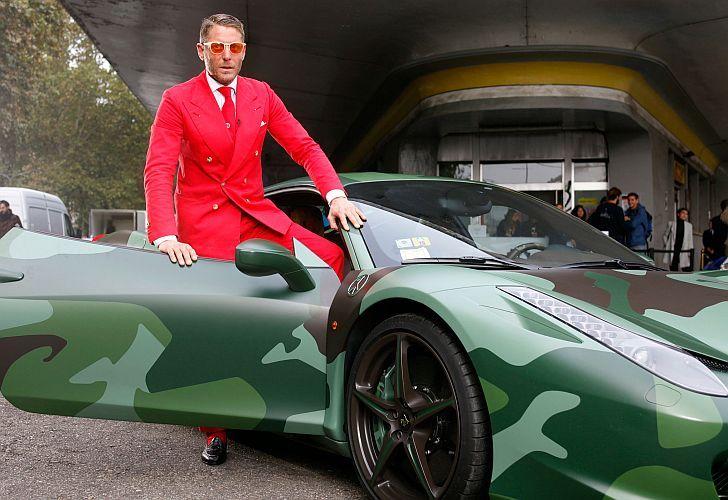 Mirá los autos modificados que diseña el heredero de Fiat