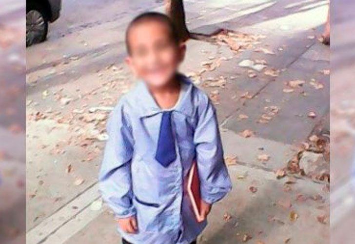 Agustín Marrero, el chiquito de cinco años asesinado a golpes en 2015.