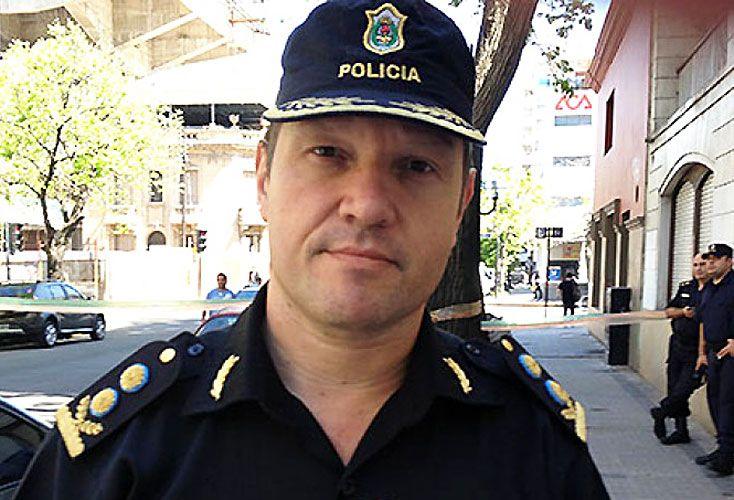 Detenidos. El ex jefe departamental, Darío Camerini (foto), y los comisarios Cuenca y Skramowskyk.