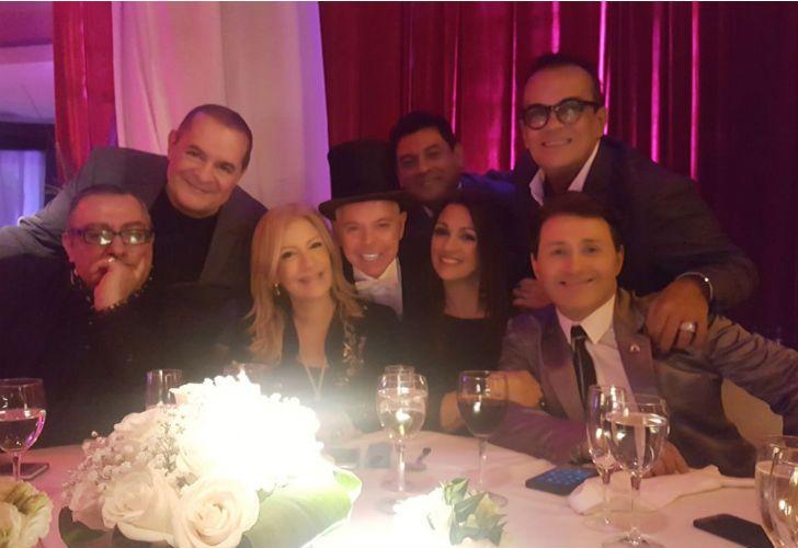 El exjuez Norberto Oyarbide festejó su cumpleaños rodeado de famosos.