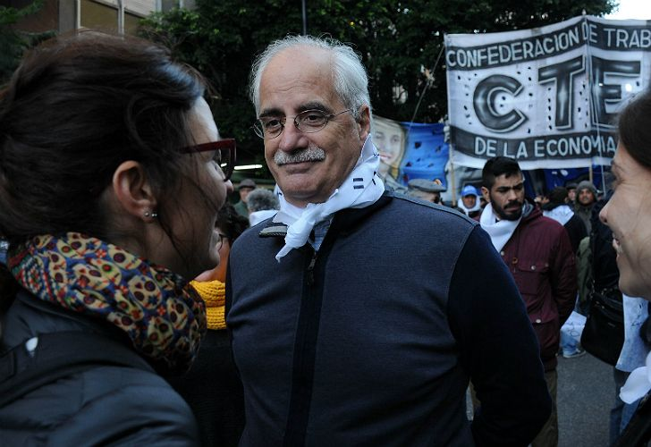 Taiana, candidato junto a Cristina Kirchner.