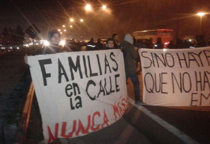 Trabajadores de Pepsico cortan Panamericana