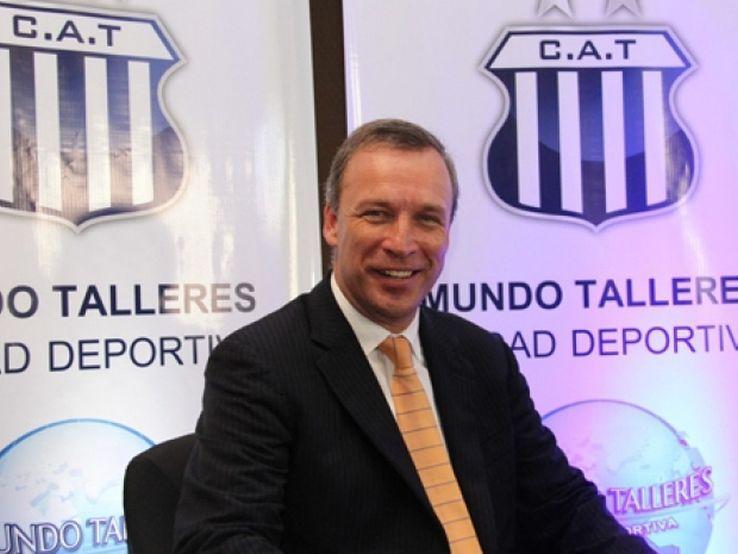 Andrés Fassi, presidente de Talleres.