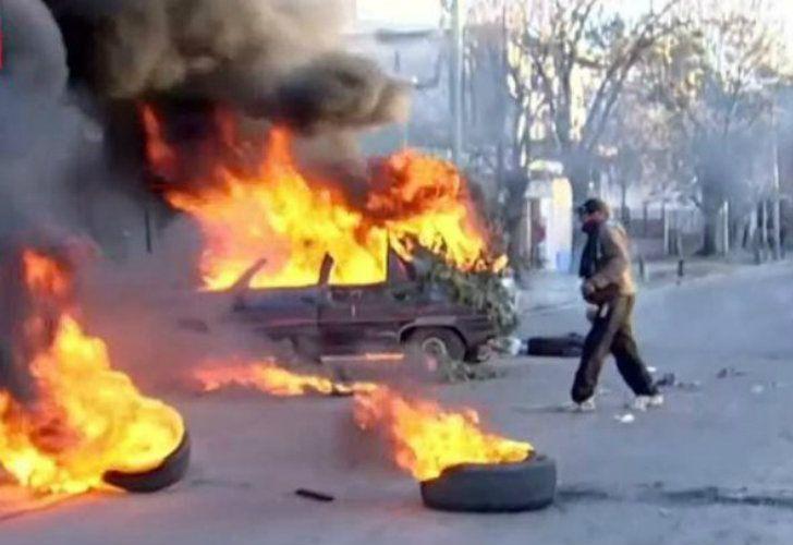 Los efectos persiguieron a manifestantes por las calles y se registraron detenciones.
