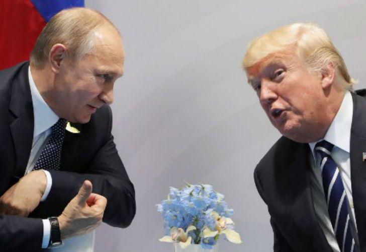 Putin y Trump. Por primera vez, ambos líderes se reunieron cara a cara, en el marco del G20.