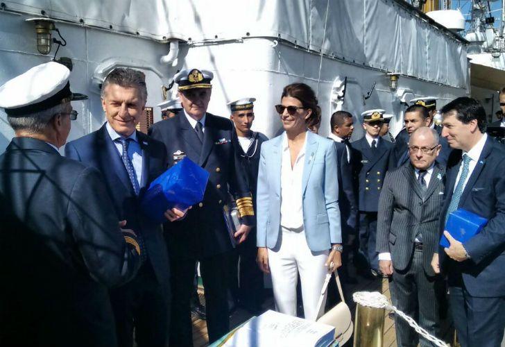 Macri celebró el 9 de julio en Hamburgo.