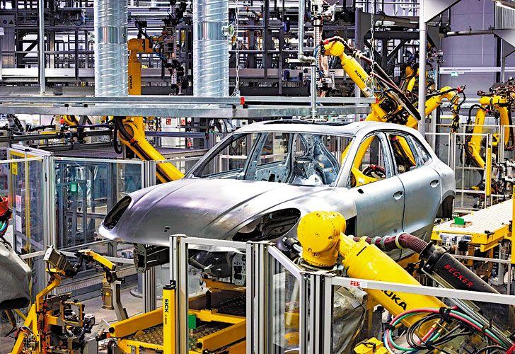 REVOLUCION. Fábricas sin obreros, un caso que ya se ve en automotrices de Leipzig.