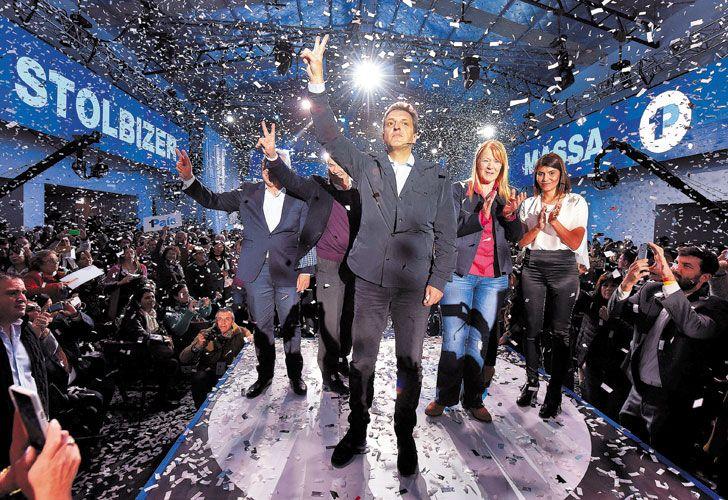Equipo. Los candidatos apuestan a romper con la polarización entre Gobierno y kirchnerismo.