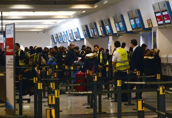 Más controles en aeropuertos