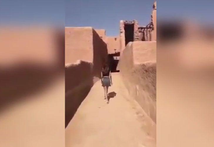Arabia Saudí libera a la mujer detenida por aparecer en un vídeo en minifalda