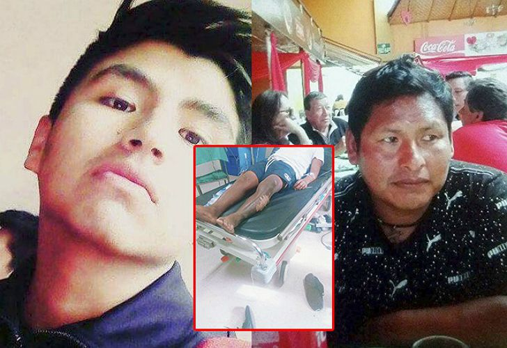 Los peruanos que fueron atacados por la turba chilena