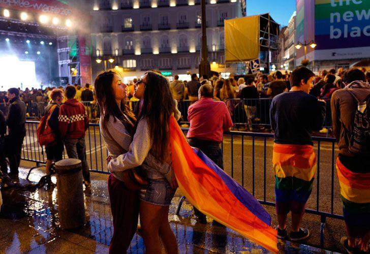Manifestación Mundial del Orgullo LGBT.