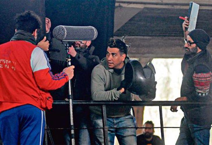 """El hecho ocurrió durante la filmación de la película a película tucumana """"El motoarrebatador"""", dirigida por Agustín Toscano."""