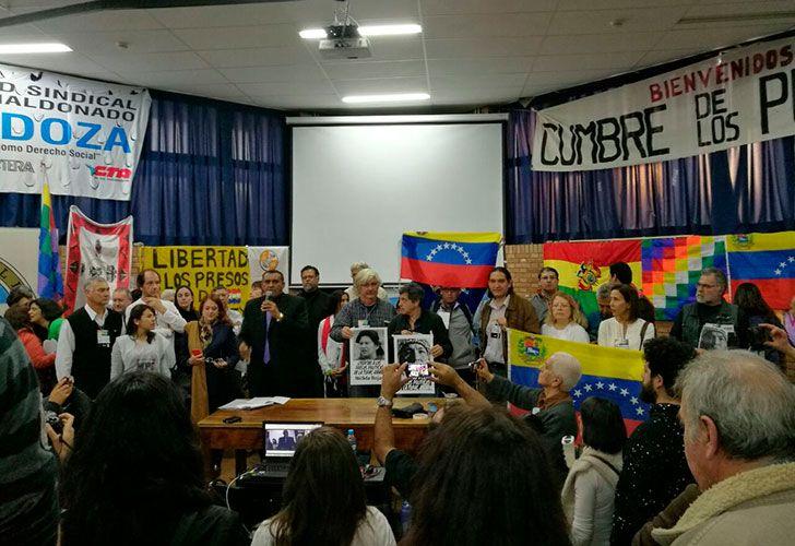 En la contracumbre, hubo un apoyo explícito para el actual gobierno de Venezuela