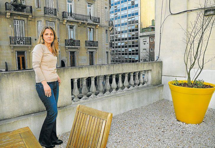 Bunker. La candidata, una de las figuras 'históricas' del PRO, recibió esta semana a Perfil en la sede de campaña de Cambiemos.