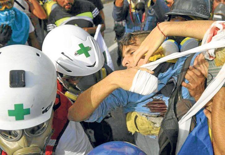 Tragedia. El joven fusilado a quemarropa muestra la crisis en el país venezolano.