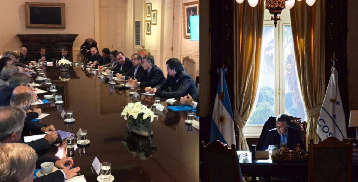 META IRRENUNCIABLE. El presidente Macri y su equipo buscan crear un ecosistema de competitividad por fuera del tipo de cambio.